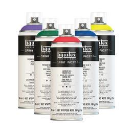 Liquitex Professional Spray Paints 400ml Group