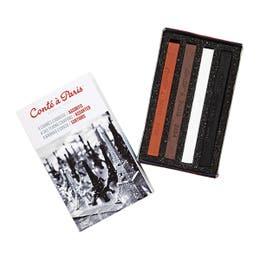 Conte A Paris Crayon Box Set Match Box (Set 4)