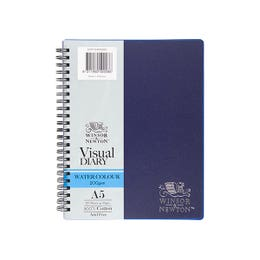 Winsor & Newton Double Wire Watercolour Visual Diaries A5 200gsm
