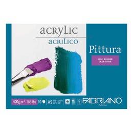 Fabriano Acrylic Pad 400gsm A5