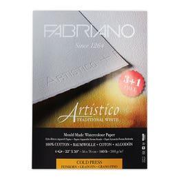 Fabriano Artistico Watercolour 3+1 Bonus Pack