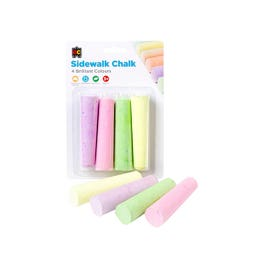 EC Sidewalk Jumbo Fluoro Chalk Pack
