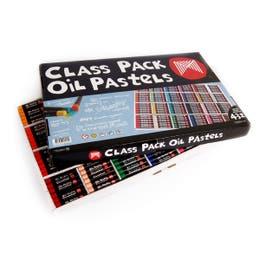 Micador Oil Pastels Class Packs Colourfun Set 432