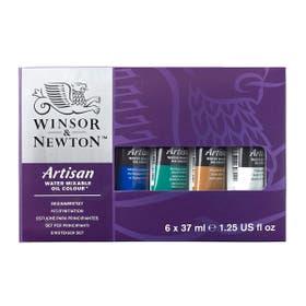 Winsor & Newton Artisan Water Mixable Oil Colour Sets 6 x 37ml