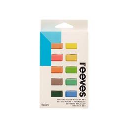 Reeves Watercolour Pan Sets Plastic Pocket