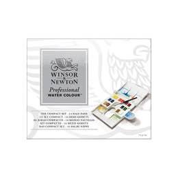 Winsor & Newton Professional Watercolour Half Pan Compact Set