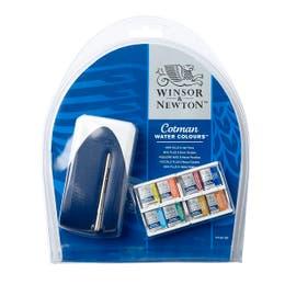 Winsor & Newton Cotman Watercolour Half Pan PLUS Set