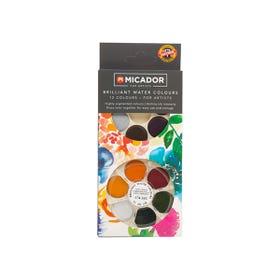 Koh-I-Noor Watercolour Discs Brilliant Set 12