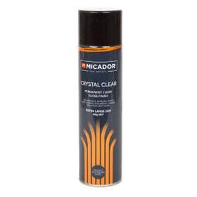 Micador Crystal Clear Varnish Spray 450g
