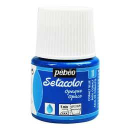Pebeo Setacolor Fabric Paint 45ml Cobalt Blue