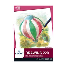 Canson 220 Drawing Pads 220gsm 25 Pages A4