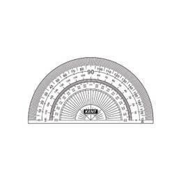 Protractors 180 Degrees 10cm