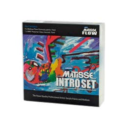 Matisse Flow Formula Acrylic Sets Introductory Colours 5 x 75ml