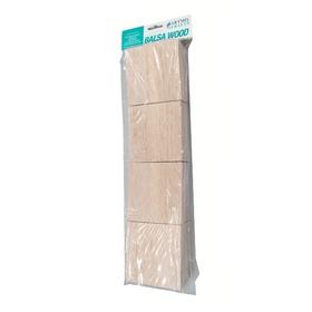 Balsa Wood Block Pack 4
