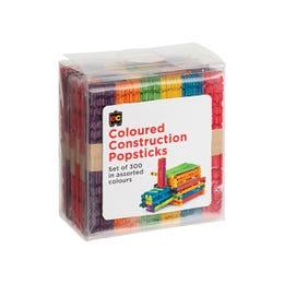 EC Construction Popsticks Assorted Colours Pack
