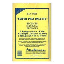 Masterson STA-Wet Premier Sponge Refill Pack 3