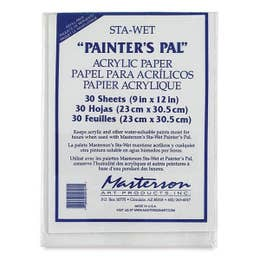 Masterson STA-Wet Painters Pal Acrylic Paper Refill Pack