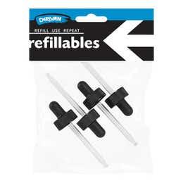 Derivan Refillable Glass Dropper Set