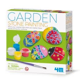 4M Little Craft Garden Stone Painting Kit