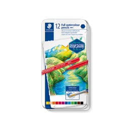 STAEDTLER Full Watercolour Pencil  Tin 12