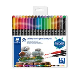 STAEDTLER Double-Ended Permanent Pen Set