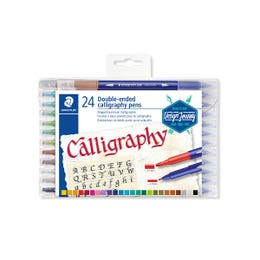 STAEDTLER Double-Ended Calligraphy Pen Set