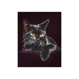 Diamond Dotz Midnight Cat Kit Design
