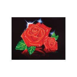 Diamond Dotz Red Rose Sparkle Kit Design