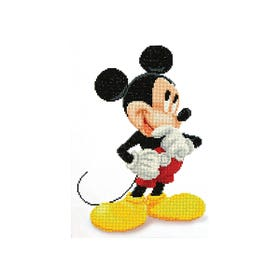 Diamond Dotz Mickey Mouse Wonders Kit Design