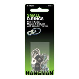 Hangman D-Ring Small Pack 4