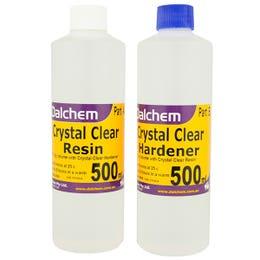 Dalchem Crystal Clear Resin Kits 1L