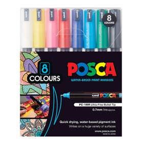 Posca Marker Extra Fine (PC-1MR) Standard Colour Set