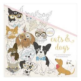 Kaisercraft Cats & Dogs Colouring Book