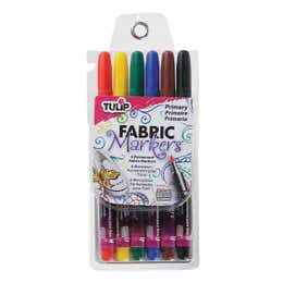 Tulip Fabric Marker Primary Set 6