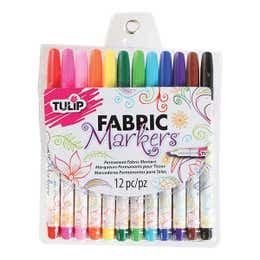 Tulip Fabric Marker Assorted Set 12
