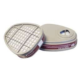 Maxisafe Half Mask Replacement Gas Filters Pack 2