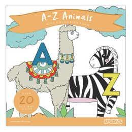 Kaisercraft A-Z Animals Kids Colouring Book