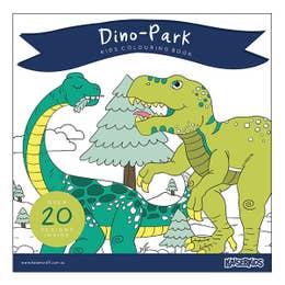 Kaisercraft Dino-Park Kids Colouring Book