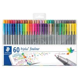 STAEDTLER Triplus Fineliner Pen Set 60