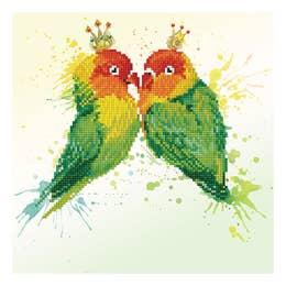Diamond Dotz Love Birds Kit Design