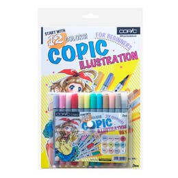 Copic Ciao Illustration Beginners Set