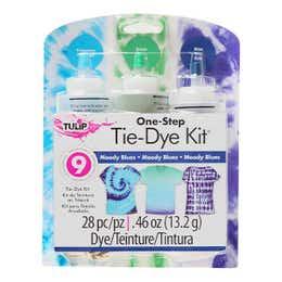 Tulip One Step 3 Colour Tie Dye Moody Blues Kit