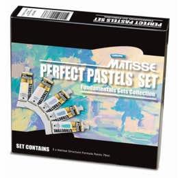 Matisse Structure Fundamental Perfect Pastels Set