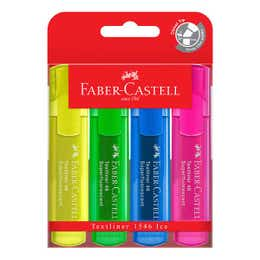 Faber-Castell Textliner Ice Highlighter Set 4