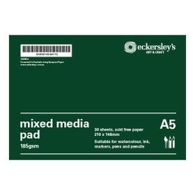 Eckersley's Mixed Media Pad A5