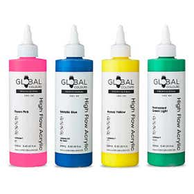 Global High Flow Professional Acrylic Paint 250ml