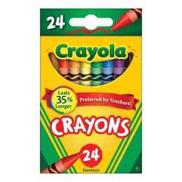 Crayola Crayons Pack 24