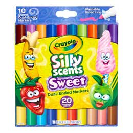 Crayola Silly Scents Dual Ended Markers Pack 10