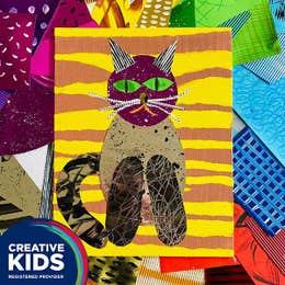 Creative Kids Pet Portrait Collage Kit