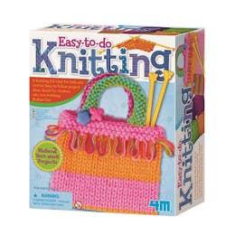4M Easy To Do Knitting Kit